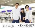 空港 旅行 笑顔の写真 45445457