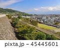 風景 甲府城 舞鶴城の写真 45445601