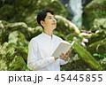 滝 読書 男性 45445855
