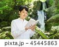 滝 読書 男性 45445863