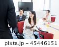 人物 女性 ビジネスの写真 45446151