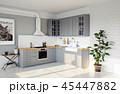 キッチン 厨房 台所のイラスト 45447882