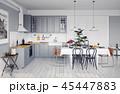 キッチン 厨房 台所のイラスト 45447883
