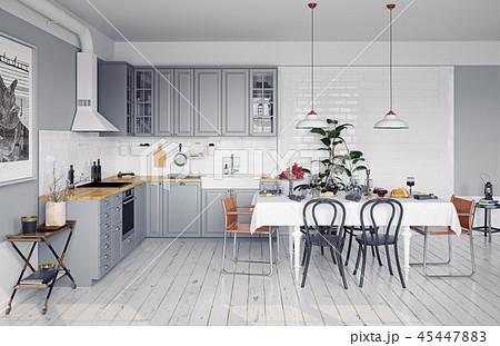 design kitchen interior. 45447883