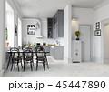 キッチン 厨房 台所のイラスト 45447890