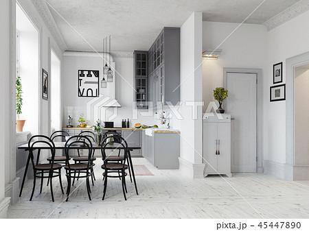 design kitchen interior. 45447890