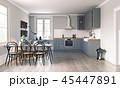 キッチン 厨房 台所のイラスト 45447891