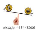 米ドルと日本円のイメージ 45448086