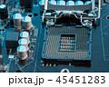 コンピュータ コンピューター パソコンの写真 45451283