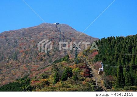 鶴見岳の紅葉 大分県別府市 45452119