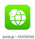 エコ 地球 アイコンのイラスト 45458348