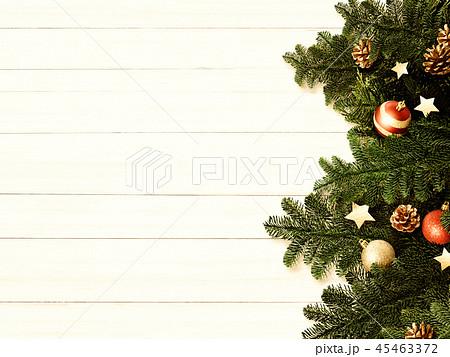背景-白壁-クリスマス-飾り 45463372