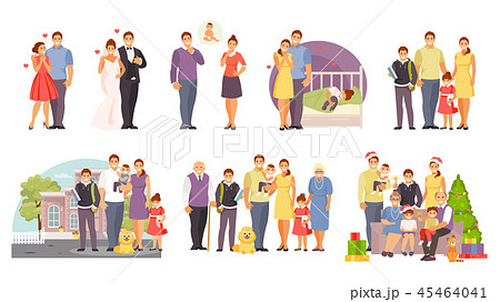Family large vector set 45464041