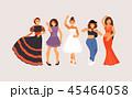 Dance styles vector 45464058
