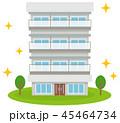 マンション 建物 リノベーションのイラスト 45464734