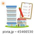 点検 チェック 検査のイラスト 45466530