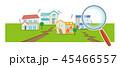 虫眼鏡 45466557