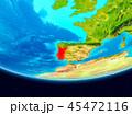 地球 ポルトガル マップのイラスト 45472116