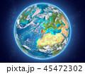 地球 ポルトガル マップのイラスト 45472302