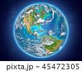 キューバ 地球 カントリーのイラスト 45472305