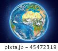 地球 トーゴ カントリーのイラスト 45472319