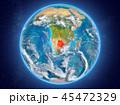 ボツワナ 地球 カントリーのイラスト 45472329