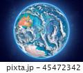 地球 ニュージーランド ニュージーランドのイラスト 45472342