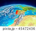 地球 ポルトガル マップのイラスト 45472436