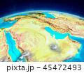 地球 クウェート クウェート国のイラスト 45472493