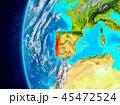 地球 ポルトガル クラウドのイラスト 45472524