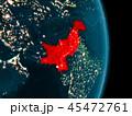 地球 パキスタン カントリーのイラスト 45472761