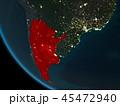 アルゼンチン 地球 カントリーのイラスト 45472940