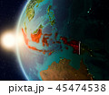 地球 大地 インドネシアのイラスト 45474538