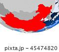 チャイナ 中国 カントリーのイラスト 45474820