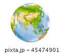 バングラディシュ バングラデシュ 地球のイラスト 45474901