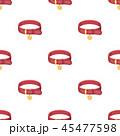 動物 首輪 アイコンのイラスト 45477598