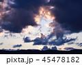 夕暮れの空 45478182