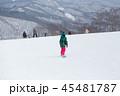 スノーボード スノボ 冬の写真 45481787
