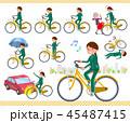 flat type school girl green jersey_city cycle 45487415