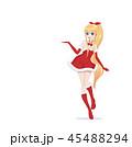 女性 メス 女の子のイラスト 45488294