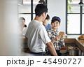 アジア人 店員 キッチンの写真 45490727