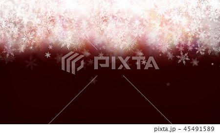 背景-冬-雪-クリスマス-赤 45491589