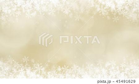 背景-雪-クリスマス-ゴールド-キラキラ 45491629