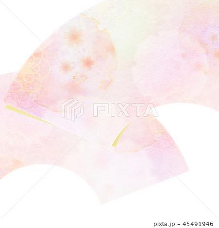 和-和風-和柄-背景-和紙-春-桜 45491946
