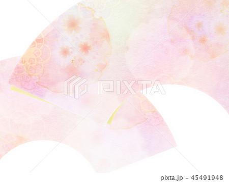 和-和風-和柄-背景-和紙-春-桜 45491948