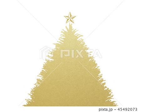 背景-クリスマス-ツリー-星-ゴールド 45492073