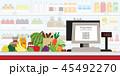 支払い 支払 お店のイラスト 45492270