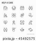アイコン イコン ベクトルのイラスト 45492575