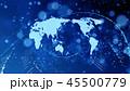 地球 世界 世界地図のイラスト 45500779