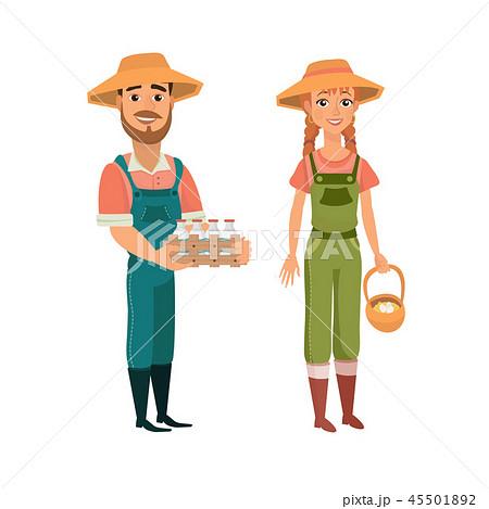 Cartoon farmers 45501892